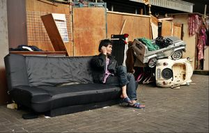 ...once I was a child (Vietnamese homeless in HK)