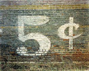 5 Cents, Demopolis, Alabama, 1980