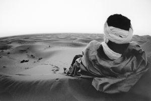 Tuareg Over the Dunes