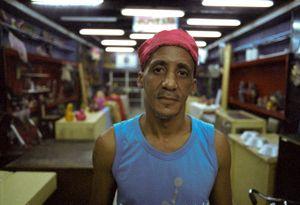 Peluquero, Cuba