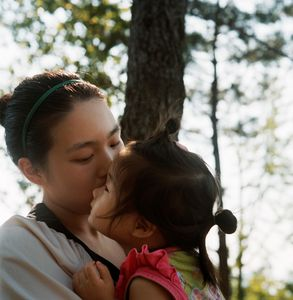 """From the series """"Mother"""" (South Korea) © Agnès Dherbeys"""