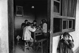 Ma Cheo People's Commune, near Shanghai, 1964. The Ma Cheo (White Horse) People's Commune was founded in 1958. © René Burri / Magnum Photos