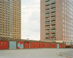 Red Road Flats. Glasgow. 2010 © Richard Chivers