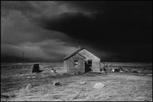 © George Webber - House with Canadian flag, 1997