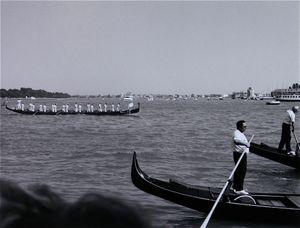 Gondolas, Grand Canal, Venice © Eric Blau