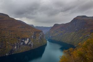 Geirangerfjord in the Fall