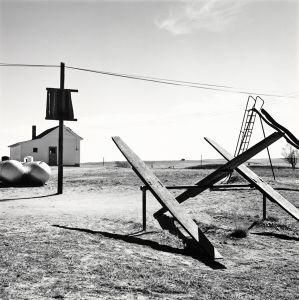 Schoolyard. Ramah, Colorado. 1968. © Robert Adams. Image courtesy of Fraenkel Gallery.
