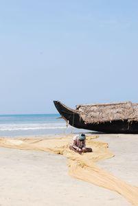 The Fishing Net, Cochin, India