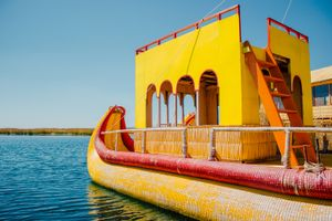 Totora Reed Boat