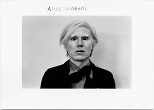 Duane Michals; Andy Warhol, 1972 © Duane Michals; The Henry L. Hillman Fund. Courtesy of Carnegie Museum of Art, Pittsburgh