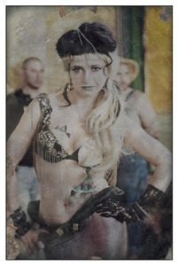 Bourlesque-Dancer