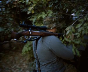 untitled hunter # II, zimbabwe-from the series 'hunters'-David Chancellor