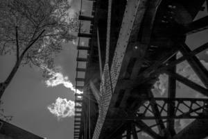 Tree Cloud Sky Bridge