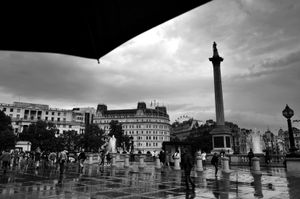 Trafalgar Square After the Rains