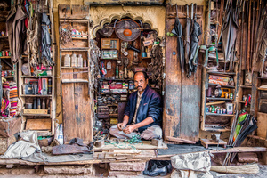 Shop Keeper, Bishnoi, Jodhpur