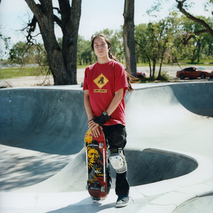 Elijah Batiste, 14, is a young Lakota boy from Pine Ridge pursuing his dream of becoming a professional skateboarder.