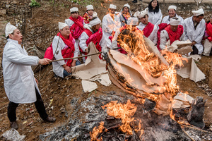 Burning the last offerings