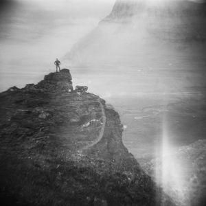 Precipice, Faroe Islands (Double Exposure)