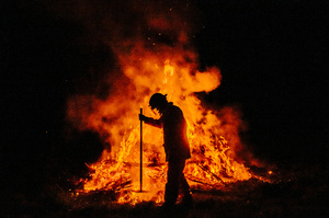 Hazard Reduction Burn Abbott Court Guanaba