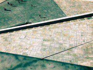 Oslo Geometry - the sidewalk