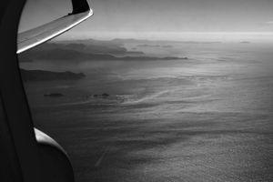 In Flight, New Zealand