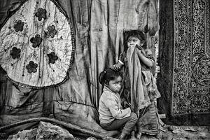 Rag Pickers' slum, New Delhi_2