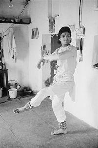 Classical Dance Academy, Varanasi, India, 1990