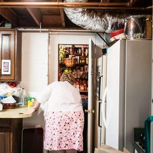 Grandma in Basement