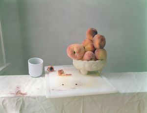 """Laura Letinsky, Untitled #49, 2002, from the series """"Hardly More Than Ever""""; from """"Feast for the Eyes"""" (Aperture, 2017) © Laura Letinsky. Courtesy the artist and Yancey Richard Gallery, New York"""