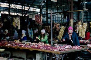 Meat Market. Dali, China.
