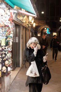 White tears. Venice 2016