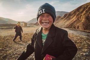 Kyrgyz kids