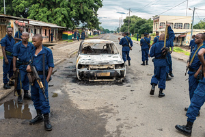 Post Elections Crisis in Burundi