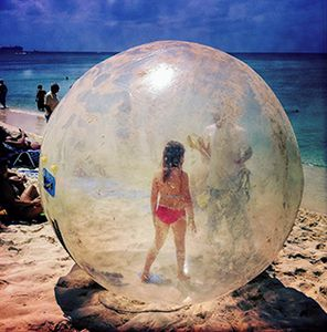Bubble, Girl, Grand Caymans