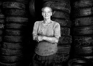 Fernando. Tyre repairer.