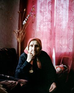 """Galina Fediotovna, Maladechna, was in the partisan force. From the series, """"I Reminisce and Cry for Life (Women veterans of II World War in Belarus)"""" © Agnieszka Rayss. Finalist, LensCulture Exposure Awards 2013."""