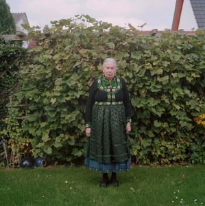 Christine Luzius. Catholic Marburger Land, 2015. From the series: The last women in their traditional peasant garbs