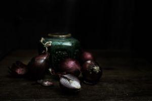 Onions and Jar