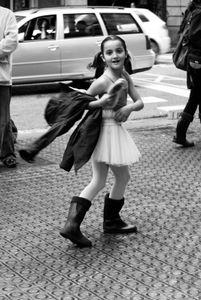 Ballerina. Barcelona.