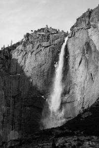 Yosemite Snow Falls