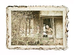 From the series Hide Sorrow Behind Mask © Yoon A Mi
