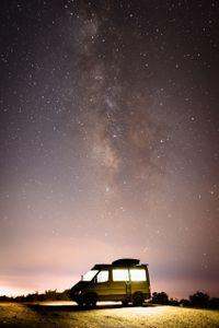 The Milky Way Above San Luis Obispo, CA