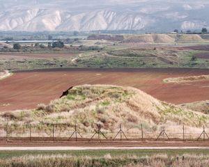 Border, Jordan Valley, 2013