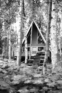 A quiet cabin in Willow, Alaska