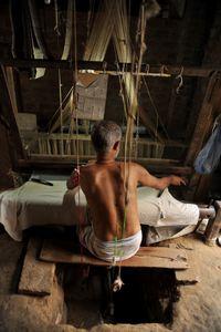 The Weaver, Varanasi, India