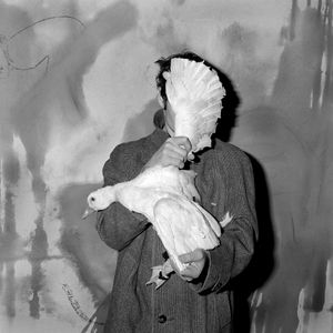 """Blinded. From the series """"Asylum of the Birds"""" © Roger Ballen"""