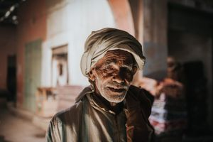 Moroccan old man