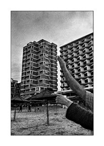 Ghost town, occupied Cyprus, Famagusta 2003