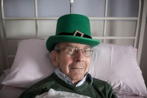 14 months after diagnosis - St Patricks Day, 2013
