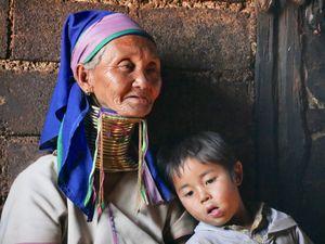 A cuddle with grandma